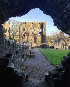 Dundrennan Abbey - the last place Mary Queen of Scots visited in Scotland on her way to England.