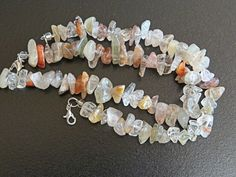 Lodolite Couple's Bracelet Set.  Unisex.  Set of 2 bracelets.  Lodolite is said to bring loving energies  Scenic or Garden Quartz  352LSB by NammersCrafts on Etsy