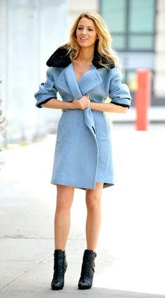 Blake Lively #celebritystyle #fashion #streetstyle