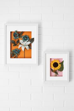 Try This: Floral Shadow Box Art (via Bloglovin.com )