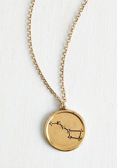 I Beg to Dipper Necklace. Your besties favorite asterism is Ursa Major. #gold #modcloth