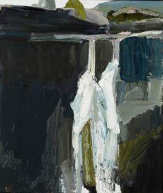 'Fall No. 7' by Australian artist Guy Maestri (b.1974). Oil on linen, 107 x 82…