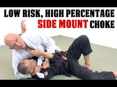 A High Percentage Low Risk Choke Submission from Sidemount - YouTube