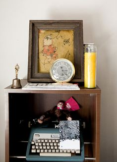 Just love this little corner space