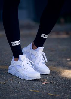 Air Huarache 'All White' (via Sweatthestyle) @ Nike US | Finishline