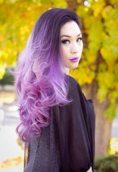Beautiful pastel ombre <3 Going from dark brown to this! Going to be a long one! <3
