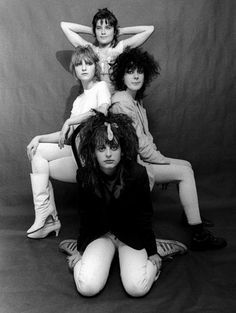 THE SLITS PROVED THAT GIRLS COULD BE RESPONSIBLE FOR SOME OF THE MOST INFLUENTIAL AND INNOVATIVE MUSIC OF THE PUNK MOVEMENT