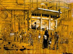 A source in Syria describes life in Raqqa, a city transformed under militant control, with sketches by Molly Crabapple.