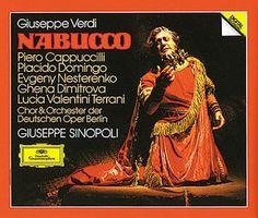 VERDI Nabucco - Sinopoli - Deutsche Grammophon