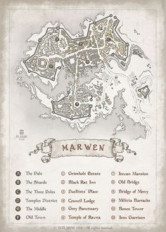 Marven - RPG project commission © M.PLASSE 2015 - All rights reserved::