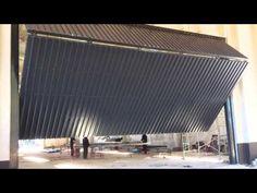 Portones Basculantes Tijera 10 metros x 6 metros proceso construccion