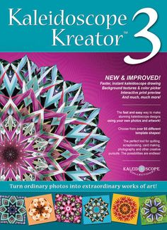Kaleidoscope Kreator 3 - I reviewed this on FaveQuilts a few weeks ago! $33.99