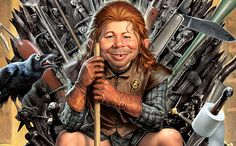 MAD Magazine parodies Game of Thrones. June issue