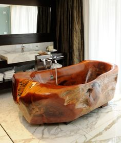 The world's coolest hotel bathtubs. -- We could seriously go for a relaxing dip right about now.