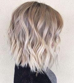 19 Pretty blonde ombré hair color ideas - Blonde balayage hair color #haircolor