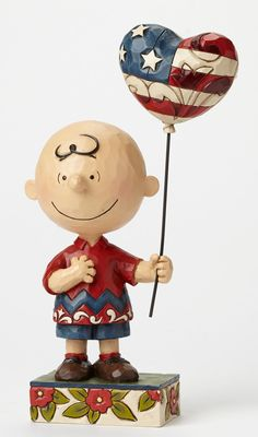 Patriotic Charlie Brown