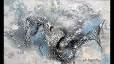 Abstraktes Malen-Demo-Mischtechniken-Abstract Art Painting-Metamorphosis