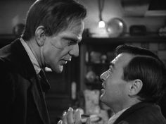 """Hey, aren't you Boris Karloff?"" - 'Arsenic and Old Lace'"