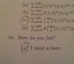 Final test question