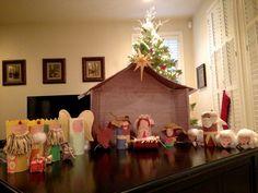 Kid's craft nativity