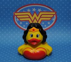 Wonder Woman Rubber Duck