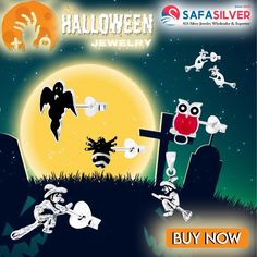Safasilver - Wholesale Silver jewelry Checkout our Halloween jewelry collection to complete your scary look costume, find earrings, pendants and rings etc. #halloween #treak #or #treat #treakortreat #scary #earrings #pendants #rings #necklace #sterling #silver #costume #matching #handmade #fashion #likeforfollow #jewelrydesigner #jewelryaddict #style #follow