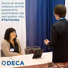 Arrive at several solutions and be prepared to recommend one and explain why. #TipTuesday