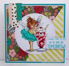 Honey Bootique: Stamping Bella Edna Loves Ice Cream