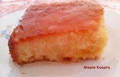 Συνταγές για διαβητικούς και δίαιτα: Ρεβανί με στέβια !!!