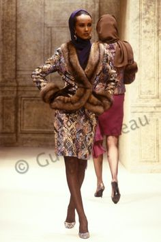 career as a fashion photographer. Thousands pics. Big Girl Fashion, 70s Fashion, Runway Fashion, Fashion Models, Fashion Outfits, Iman Bowie, Iman And David Bowie, Iman Model, Supermodel Iman