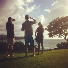 This looks like an exact view from the resort we stayed at in Hawaii for our honeymoon.