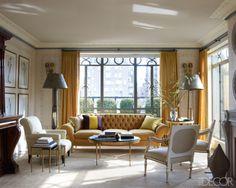 LookBook | Eclectic Living Room | ELLE Decor