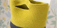 DIY mode: un panier au crochet