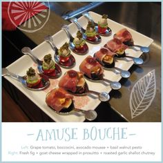 amuse bouche recipes | RECIPE: Amuse-bouche for your next party} | Chocolate & Ginger