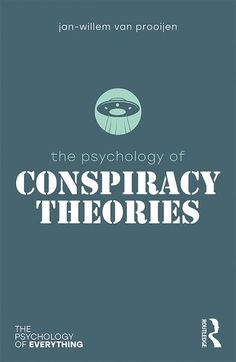The Psychology of Conspiracy Theories (eBook Rental) Psychology Programs, Psychology Books, Psychology Facts, Books To Read, My Books, Entrepreneur Books, Brain Training, Conspiracy Theories, Videos Funny