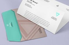 This is a psd envelope with a letter to showcase your brand design. You can change the  envelope color with...