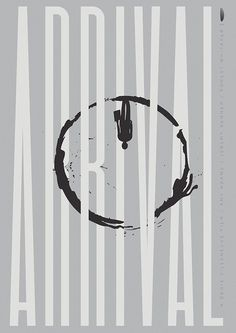 The first design in my Oscar Designs 2017 (fka Oscar Bait Project) for Denis Villeneuve's Arrival, surely a contender for a bunch of Oscars at this years upcoming academy awards. Arrival Poster, Arrival Movie, Minimalist Graphic Design, Minimalist Poster, Minimal Movie Posters, Cool Posters, Denis Villeneuve, Alternative Movie Posters, Movie Poster Art