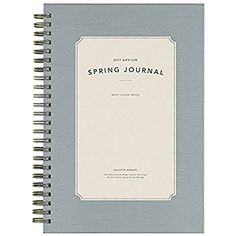 Amazon.com : 2017 Ardium Spring Journal Date Planner Diary Business Meeting As your Manager Diary (Gray) : Office Products