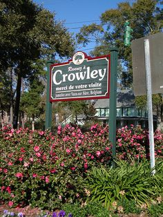 Crowley Farewell Sign (Crowley, Louisiana)