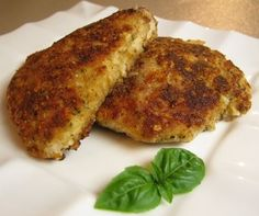 Parmesan Crusted Chicken good-food