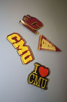 Assorted C M U Magnets (SKU 1209551330)