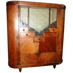 MAJORELLE 1920 Signed Display Cabinet | From a unique collection of antique and modern vitrines at http://www.1stdibs.com/furniture/storage-case-pieces/vitrines/