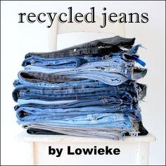 Grote opbergmand gemaakt uit de mooiste stukken van een oude jeans! In deze multifunctionele mand past echt van alles. Of hij nou gebruikt wordt als opbergplek voor al het speelgoed in de woonkamer of als wasmand, hij zal je interieur een stoer fris uiterlijk geven. Maat: hoogte 26 cm /