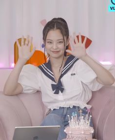 Cute Kawaii Girl, Cute Girl Face, Cool Girl, Kim Jennie, Christopher Evans, Blackpink Fashion, Korean Fashion, South Korean Girls, Korean Girl Groups