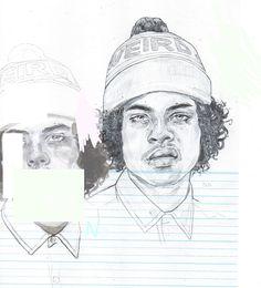 https://flic.kr/p/gkdQgX | Sketch from Lazy Oaf Lookbook | 2013 Sketchbook (Edited in MS Paint) A6