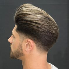 javi_thebarber_ medium length huge pomp fade Popular The Pompadour Haircut Smart Hairstyles, Modern Hairstyles, Hairstyles Haircuts, Haircuts For Men, Modern Pompadour, Pompadour Fade, Pictures Of Short Haircuts, Mens Hairstyles Pompadour, High Fade Haircut