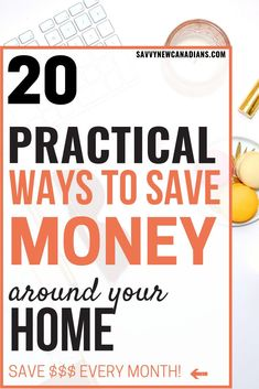 20 Creative Money Saving Tips Around Your Home Do you want to lower your household expenses and save more money? These 20 practical tips are all you need to start saving thousands of dollars every year around your home. Start saving now! Best Money Saving Tips, Money Saving Challenge, Ways To Save Money, Money Tips, Saving Money, Frugal Living Tips, Frugal Tips, Frugal Family, Planning Budget