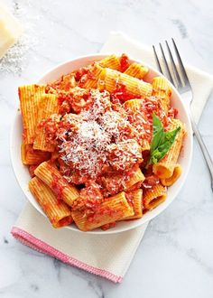 Parmesan and Sausage Bolognese