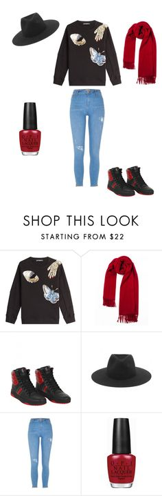 """""""Untitled #371"""" by i-would-prefer-not-to ❤ liked on Polyvore featuring Alexander McQueen, Gucci, rag & bone, River Island and OPI"""