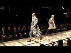 Versace Men's Fall/Winter 2015-16 is absolute luxury with a Versace edge. Watch the catwalk video. #VersaceMenswear